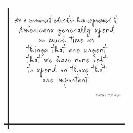 Quote_HSchoegler_spend time on things that are important