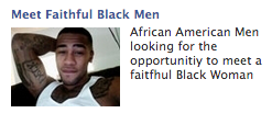 Facebook ad_meet faithful black men